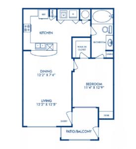One bedroom apartments for rent in San Antonio