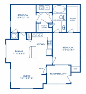 Two bedroom apartments for rent in San Antoniov