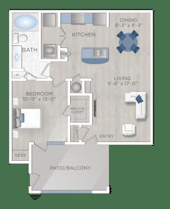 One Bedroom Apartment in NW San Antonio