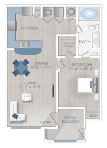 One Bedroom Apartment in San Antonio