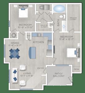 Two Bedroom Apartment in San Antonio TX