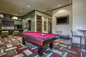 One Bedroom Apartments for rent in San Antonio, TX - Clubhouse Interior Pool Table