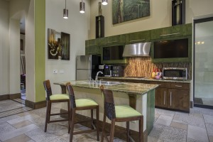 One Bedroom Apartments for rent in San Antonio, TX - Clubhouse Kitchen