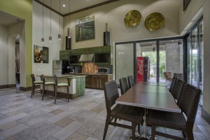 One Bedroom Apartments for rent in San Antonio, TX - Clubhouse Kitchen & Seating Area