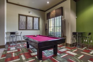 One Bedroom Apartments for rent in San Antonio, TX - Clubhouse Pool Table