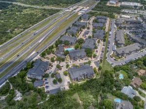 33 Bedroom Apartments for rent in San Antonio, TX - Aerial View of Community