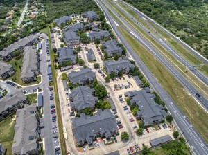 3 Bedroom Apartments for rent in San Antonio, TX - Aerial View of Community (2)