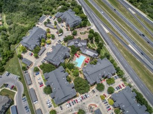 3 Bedroom Apartments for rent in San Antonio, TX - Aerial View of Community (3)