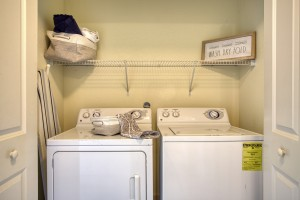 Three Bedroom Apartments for rent in San Antonio, TX - Model Laundry Room