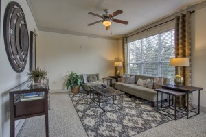 Three Bedroom Apartments for rent in San Antonio, TX - Model Living Room