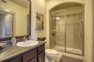 Two Bedroom Apartments for rent in San Antonio, TX - Model Bathroom (2)