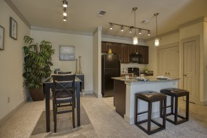 Two Bedroom Apartments for rent in San Antonio, TX - Model Kitchen & Dining Room