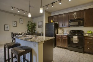Two Bedroom Apartments for rent in San Antonio, TX - Model Kitchen & Dining Room (2)